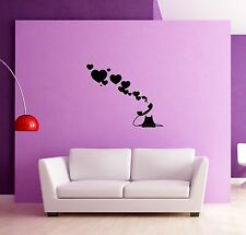 Wall Sticker Phone Hearts Love Romantic for Living room  z1270