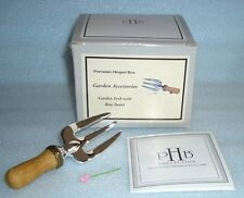 Garden Fork Phb Porcelain Hinged Box by Midwest of Cannon Falls