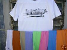 Airplane T Shirt GrummanF4F Wildcat Size XL