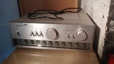 !Mint! - Vintage Pioneer Stereo Amplifier A-27 Silver Face w/orig box