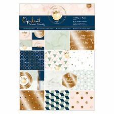 A4 carta Pack-FOREVER FRIENDS opulento Collection-Docrafts