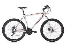 "Mountainbike Hardtail 26"" Sharp 21 Gänge MTB Weiss-Rot RH 51 cm KS Cycling 351M"