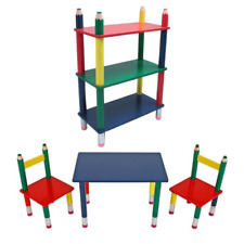 Child Seat Kids' Furniture Children's Table and Chairs Shelf Kid's Room