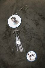 Wire Haired German Pointer  LARGE  Wind Chime - NEW - MUST L@@K! - LAST ONE!