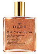NEW! Nuxe Huile Prodigieuse Multi-Purpose Dry Oil Golden Shimmer 50ml,SHIP WORLD