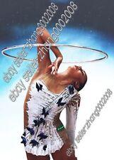 rhythmic gymnastics leotard.Rg acrobatic twirling competition dance dress custom