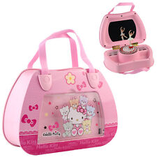 Childrens Musical Jewellery Box kids Pink Music Box Ballet with Dance Ballerina