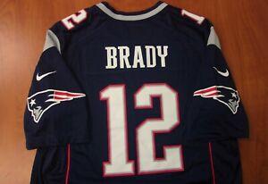 Nike NFL New England Patriots Football Tom Brady Authentic On Field Jersey L NEW