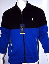 Polo Ralph Lauren pieced interlock track jacket size small 100%