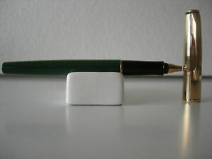 Parker Insignia Green Rollerball Gold U.S.A Never Used