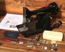 1960 Singer 192K Spartan 3/4 size Sewing machine Straight Stitch Works perfectly
