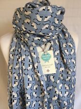 PEONY SIAMESE CAT KITTEN BLUE SCARF WIFE FRIEND SISTER GIFT PRESENT CATS GIFT