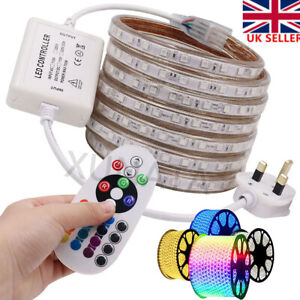 LED Strip Lights 220V Waterproof 5050 Flexible Tape Rope Commercial Outdoor Lamp