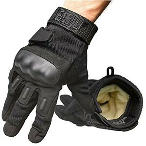 Kevlar Lined Tactical Gloves -Full Hand Protection, Cut and Temp Resistant