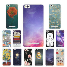"""5.0"""" Soft TPU Silicone Case For Xiaomi Mi 4i 4c Phone Back Covers Skins Cats"""