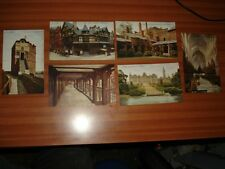 6 VINTAGE CHESTER CHESHIRE POSTCARDS VG CONDITION