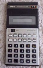 Vintage Casio Scientific Calculator fx-7 Made in Japan