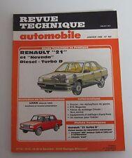 Revue technique automobile RTA 487 Renault 21 & nevada diesel turbo D