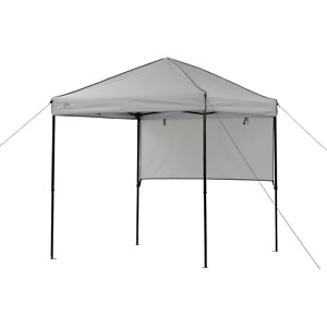 6 ft x 6 ft Gray Instant Outdoor Canopy with UV Protection