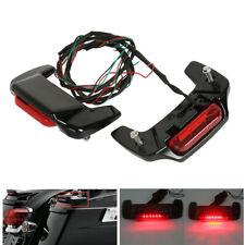 1993-2013 LED Light Kit Saddlebag Lid Spoiler For Harley Electra Glide Road King