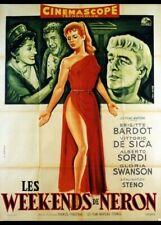 affiche du film WEEK ENDS DE NERON (LES) 60x80 cm