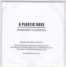 (EO490) A Plastic Rose, Someone's Daughter - 2014 DJ CD