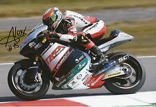 Alex De Angelis Hand Signed 2014 Moto2 Tasca Racing Suter 12x8 Photo 5.