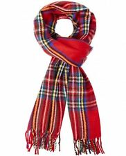 Châles/écharpe rouge en acrylique pour femme