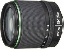 Pentax Estándar Zoom Lente DA18-135mm F3.5-5.6ED Al si Dc Wr k Montaje Aps Nuevo