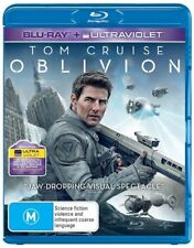 Oblivion  Blu-Ray  Brand New Aust. Region B - Tom Cruise, Morgan Freeman (NO UV)