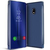 Handy Klapp Tasche für Samsung Galaxy J3 2017 Hülle View Flip Case Schutz Cover