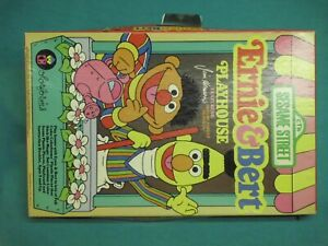 bert and ernie colorforms 80s