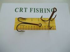 LAKE & STREAM BRONZE TREBLE HOOK SIZE 12/0 25 PACK