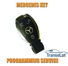 MERCEDES M CLASS W164 MERCEDES ML 2005 - 2011 CHROME KEY AND PROGRAMMING