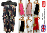 Ladies Chiffon Frill Strappy Crinkle Pleated Jumpsuit 3/4 Culotte Dress 8-26