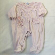 DISNEY pink Piglet floral babygrow sleepsuit Baby girls clothes 0-3 Months