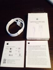 Cable original Apple conector Lightning a USB - Md818zm/a Retail con caja
