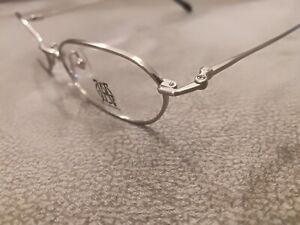Jean Paul Gaultier JPG Vintage OVAL Eyeglasses Frames 57-0056 Silver 51-17