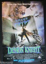 DEMON KNIGHT—1995 PROMO POSTER—VHS RELEASE
