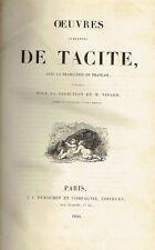Oeuvres Complètes de Tacite - Sous la direction de M. Nisard
