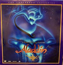 Walt Disney's ALADDIN CAV Letterbox Laserdisc (2 discs) - Tested