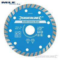 950392 Silverline Marble Cutting Diamond Blade 110mm diameter 20mm bore
