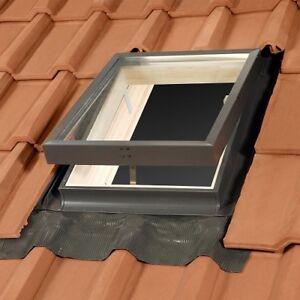 78 x 92 Verdunkelungsrollo und Eindeckrahmen 0-50mm Balio Dachfenster Holz incl