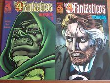 Los 4 Fantasticos Reunion Nº1 y 2 COMPLETA del volumen 1 de Forum Impecables