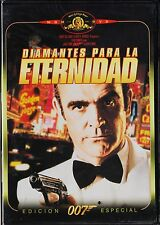 James Bond 007 nº  7: DIAMANTES PARA LA ETERNIDAD con Sean Connery. 1971