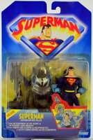 CITY CAMO SUPERMAN Deluxe Action Figure - Superman Animated - KENNER 1997