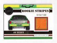 2006 VIP ROOKIE STRIPES #RS6 J. J. Yeley BV$50! #010/100!  VERY SCARCE!