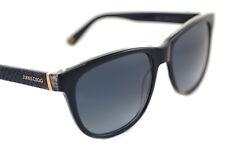 Jimmy Choo rebby VSB Damas Mujeres Gafas de sol plásticas Pitón Negro Gris Dorado Azul