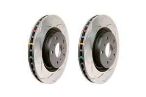 DBA Front Clubspec 4000 Slotted Brake Rotors (Pair) For 14-17 Corvette
