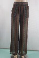 New Women's Bcbg max azria Floral-Print Pant Auburn Comb SZ XS